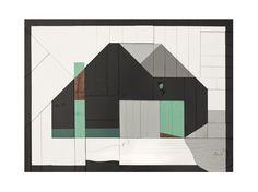 "Drew Tyndell / House 7. / 23.5"" X 31.5"""