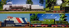 "Locomotives in the world ""Four of the strongest, fastest and most original locomotives in the world! Attention: For the"" glass box ""of the Royal Bavarian State Railways you still need two short pieces of wire.""        5 parts"