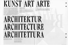 Swiss Art Awards' Typeface (Yoann Minet & Ludovic Balland)