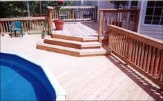 For your Macon and Warner Robins area pool deck, what material should you use? Above Ground Pool Decks, In Ground Pools, Pool House Designs, Backyard Makeover, Outdoor Living, Outdoor Decor, Pool Houses, View Image, New Homes