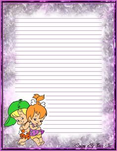 Free Printable Business Cards, Printable Lined Paper, Free Printable Stationery, Printable Recipe Cards, Disney Writing, Paper Toys, Paper Crafts, Pen Pal Letters, Rainbow Brite