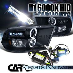 09-15 RAM 1500 2500 3500 BLACK HALO LED PROJECTOR HEADLIGHTS+H1 6000K HID KIT in eBay Motors, Parts & Accessories, Car & Truck Parts | eBay