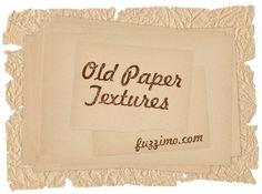 Free Hi-Res Wrinkled Torn Old Paper Textures