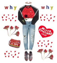 """""""this is how to be a heartbreaker"""" by flowerofevil ❤ liked on Polyvore featuring Zara, adidas, Golden Goose and Tuesday Bassen"""