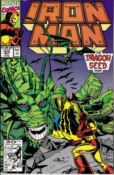 Iron Man 1968 1st Series 274 November 1991 Issue  by ViewObscura