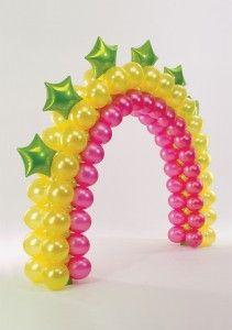 arco de balões festa infantil - Fotos de Decoração