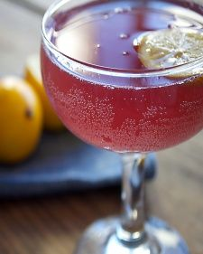 Valentine's Day Cocktail Recipe: The Rose Noir - Martha Stewart Food