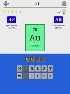 Ipad app chemical elements of the periodic table name quiz and ipad app chemical elements of the periodic table name quiz and flashcards games urtaz Gallery