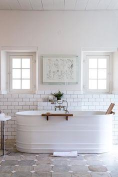 Farmhouse bathroom inspiration.