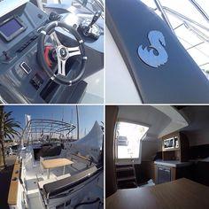 Hemos estado a bordo de la nueva Beneteau Yachts Flyer 8 Sundeck, con el innovador casco AirStep, una eslora de 9 metros y una manga de 2,94 metros y cuenta con una motorización de 500CV.  Dónde: Beneteau - Moll de la Fusta   D438  #salonnauticobcn #salonnautico #beneteau #BeneteayFlyer8 #lancha #novedad #nueva