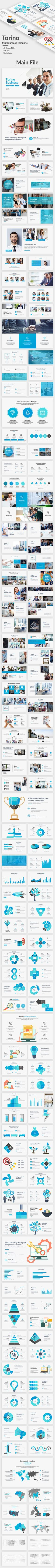Torino Multipurpose Powerpoint Template - Business PowerPoint Templates