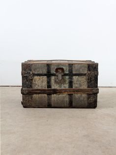 Antique Trunk. via Etsy.