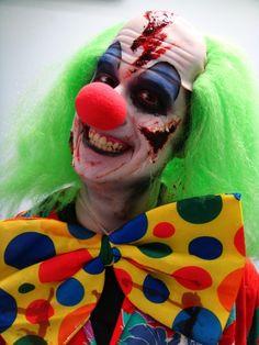 Fright Fest Makeup Zombie Clown