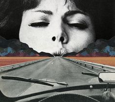 Sammy Slabbinck repurposes mid-century magazines to fantastic effect.