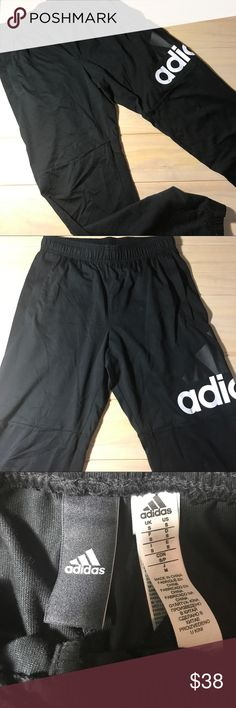 Adidas cotton jeggings NWOT cotton blend, adidas jeggings. Awesome Leggings with elastic band on waist and ankles. Adidas logo on the side. Size S adidas Pants Track Pants & Joggers