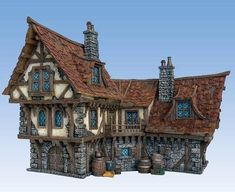 Image result for minecraft fantasy houses Fantasy house Medieval houses Building concept
