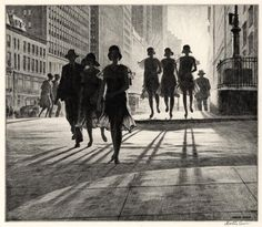 The Old Print Shop, Martin Lewis