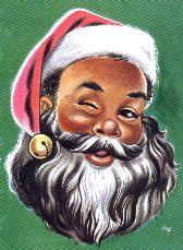 African American Santa♥