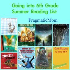 Going into 6th Grade Summer Reading List for Tweens :: PragmaticMom