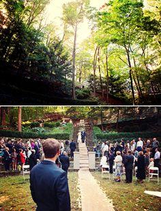 Forest wedding near Lake Michigan : Kristine Crawford Weddings