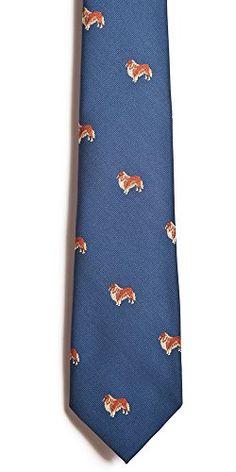 Collie Silk Necktie