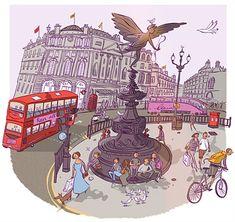 Adam Larkum Illustrator - Children's book, magazines & Paper Art