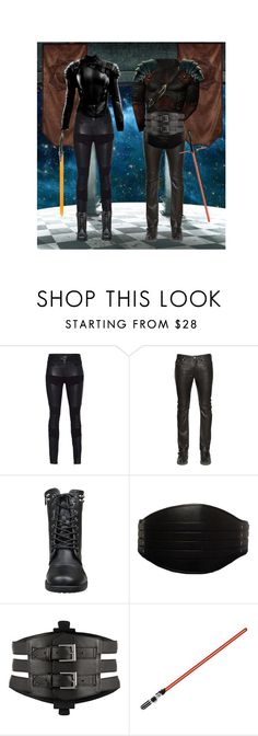 """""""Sith Academy"""" by spaceemo ❤ liked on Polyvore featuring TIGHA, Diesel and Kiki de Montparnasse"""