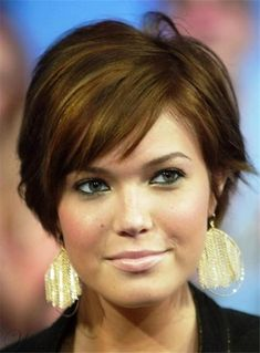 #WigsBuy - #WigsBuy Short Soft Natural Pixie Hairstyle Straight Human Hair Capless Women Wigs 6 Inches - AdoreWe.com