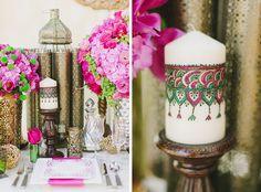 We love these #Moroccan wedding details! #moroccanwedding
