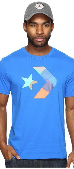 Converse CONS Skate Logo Tee (Soar Blue) Men's T Shirt - Converse, CONS Skate Logo Tee, 10003929-A01, Apparel Top Shirt, T Shirt, Top, Apparel, Clothes Clothing, Gift, - Fashion Ideas To Inspire
