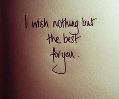 *I Wish Nothing But The Best For You* Adele - Someone Like You