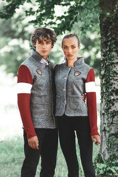 Vest, Blazer, Jackets, Style, Fashion, Crests, Mandarin Collar, Scale Model, Grey
