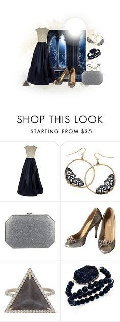 """Moonlight"" by seralice0 ❤ liked on Polyvore featuring Naeem Khan, Valentino, Monique Péan, INC International Concepts and Eva Fehren"