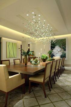abgehängte decke led streifen küche weiß landhaus led leisten ... - Esszimmer Beleuchtung