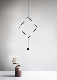 The winner of the the Northern Lighting Design Award 2016 was a series of three sculptural lamps called Symmetry, designed by Hannakaisa Pekkala. Lamp Design, Lighting Design, Geometric Lamp, Pendant Light Fixtures, Pendant Lamps, Lighting Solutions, Design Awards, Interiores Design, Home Decor Inspiration