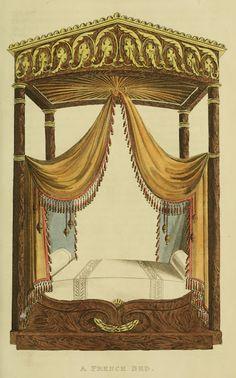 EKDuncan - My Fanciful Muse: Regency Furniture 1816 Ackermann's Repository Series 2 Regency House, Regency Era, Regency Furniture, Vintage Furniture, Luxury Furniture, Furniture Design, Jane Austen, Cheap Furniture Online, Furniture Stores