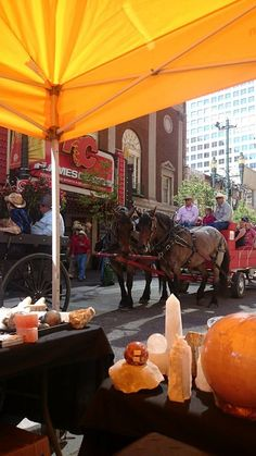 Calgary Stampede on Stephen Ave 2014