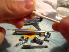 cleaning your dinair airbrush
