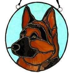 stained glass dog - Buscar con Google