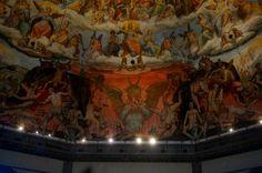 Basilica Santa Maria del Fiore, Firenze, Italy 피렌체 산타마리아 델 피오레 성당의 천장화 - Photo by Gomto (Korea)