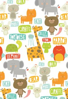 Cute animal print patterns - photo#20