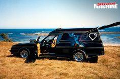 ◆ Visit MACHINE Shop Café... ◆ ~ Aussie Custom Cars & Bikes ~ (Brett Hansford's Radical Custom Holden Panel Van 'Street Legal' with every body panel modified. Hence the 'Radical Custom' class title)