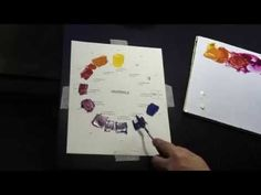 CMY oil painting color wheel demo by fine artist Talya Johnson part 1 - YouTube