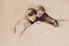 Mary Cassatt etchings on view at Rutgers