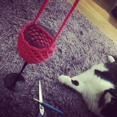 Classy crochet #crochet #crocheting #crochetlove #crochetersofinstagram #wine #classycrochet by mauledbymeerkats