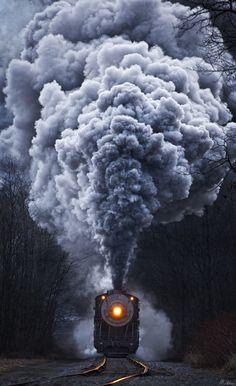 Follow the West Wind — (via 500px / Madness by Matthew Malkiewicz) | Train | Photography