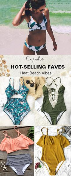 Treat Yourself Recent Hottest Items! Splash up these fantastic styles next time you're at the beach or sitting pretty by the pool. Enjoy sunshine and breeze during your vacation. Free shipping~ Shop Now!