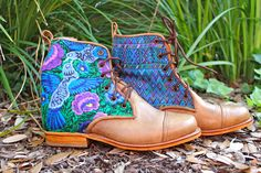 Teysha Artisan-Made Boots. Designed by You, Custom Fit to Your Feet Connect:Create:Empower