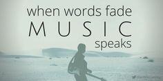 When words fade #music #speaks #quotes #twitter #qotd #canva #annmccartney @annmccartney
