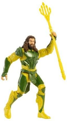 1594e43b8283 DC Comics Justice League Power Slingers Aquaman Figure